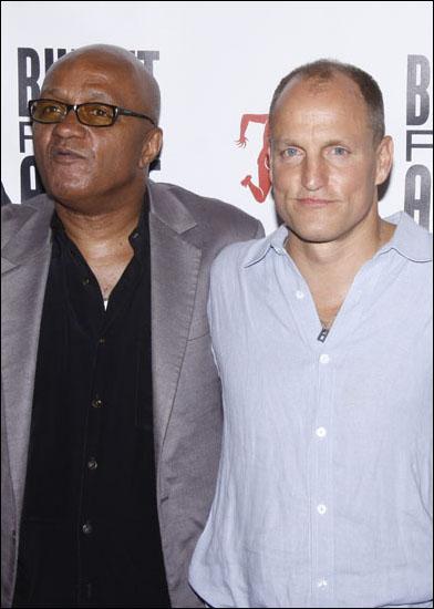Frankie Hyman and Woody Harrelson