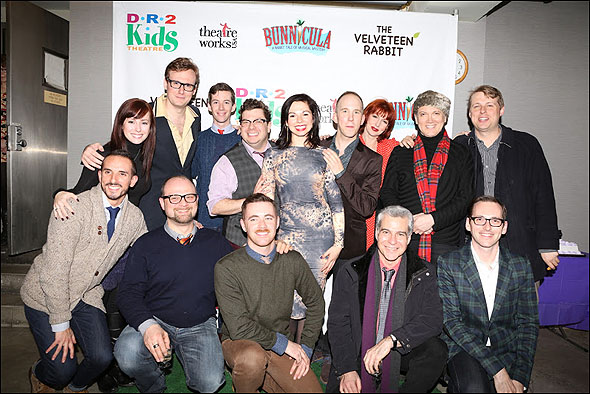 The cast and creative team of Bunnicula