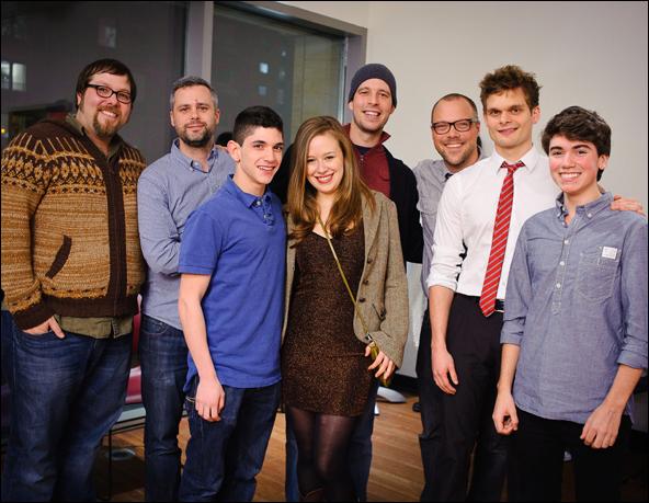 Evan Harrington, Chris Miller, Al Calderon, Molly Ranson, Steve French, Nathan Tysen, Andrew Durand and Noah Galvin
