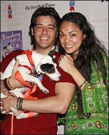 George Akram and Karen Olivo