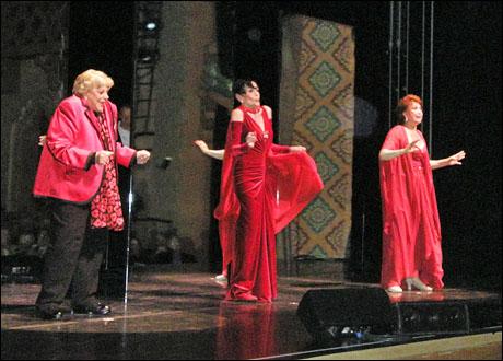 Kaye Ballard, Liliane Montevecchi and Donna McKechnie