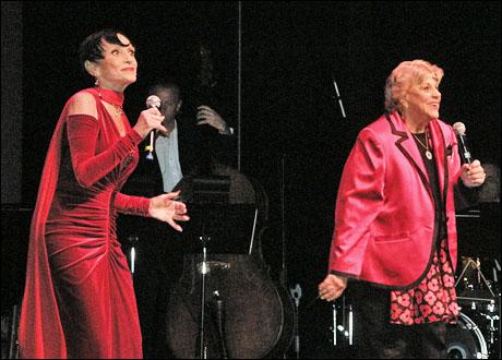 Liliane Montevecchi and Kaye Ballard