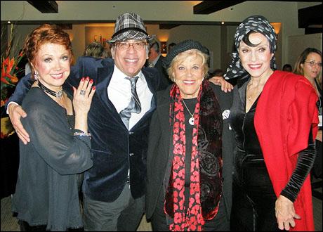 Donna McKechnie, Richard Jay-Alexander, Kaye Ballard and Liliane Montevecchi