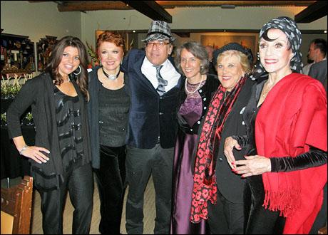 Nikki Stanzione, Donna McKechnie, Richard Jay-Alexander, Lisa Jennings, Kaye Ballard and Liliane Montevecchi