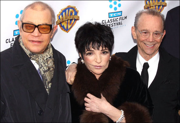 Michael York, Liza Minnelli and Joel Grey