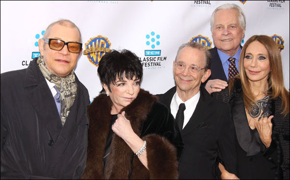 Michael York, Liza Minnelli, Joel Grey, Robert Osborne and Marisa Berenson
