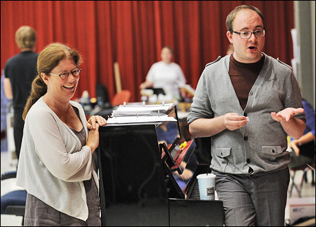 Director Mary Zimmerman and musical director Doug Peck