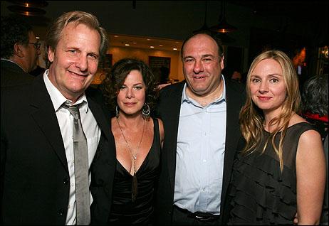 Jeff Daniels, Marcia Gay Harden, James Gandolfini and Hope Davis