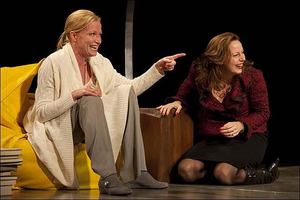 Johanna Day and Christy Pusz
