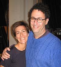 Composer Jeanine Tesori and playwright/librettist Tony Kushner.