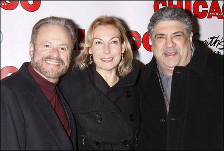 Barry Weissler, Ute Lemper and Vincent Pastore