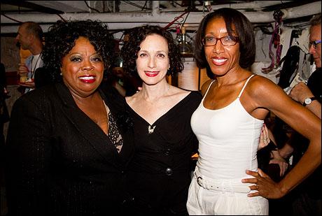 Carol Woods, Bebe Neuwirth and Mamie Duncan Gibbs