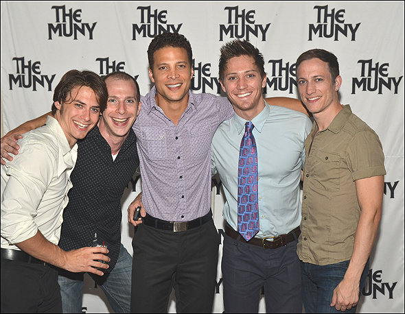 Rory Max Kaplan, Charlie Alterman, Justin Guarini, Adam Jepsen and Gerard Henry