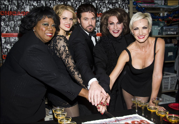 Carol Woods, Amy Spanger, Billy Ray Cyrus, R. Lowe and Amra-Faye Wright