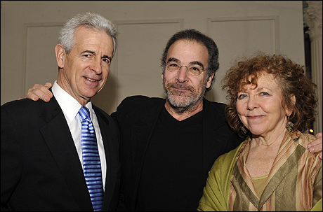 James Naughton, Mandy Patinkin and Kathryn Grody