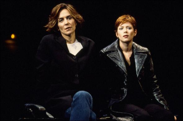 Polly Draper and Anna Friel