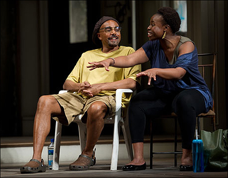 Gregory Wallace and Omozé Idehenre