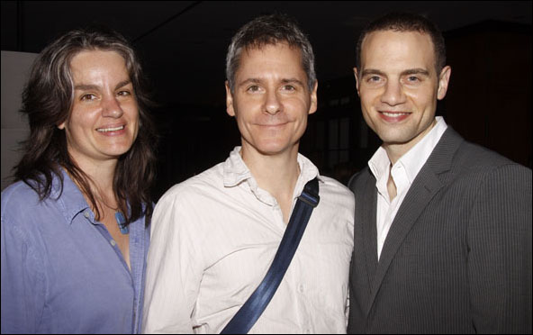 Pam MacKinnon, Bruce Norris and Jordan Roth