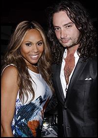 Deborah Cox and Constantine Maroulis