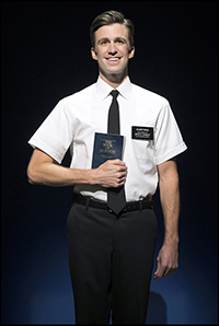 Gavin Creel in <i>The Book of Mormon</i>.