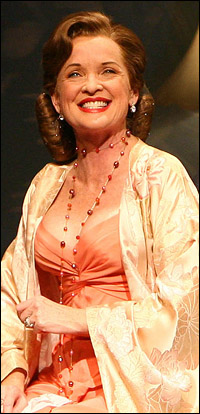 Christine Ebersole in the Broadway production of <i>Grey Gardens</i>.