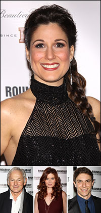 Stephanie J. Block; guests Victor Garber, Debra Messing and Derek Klena