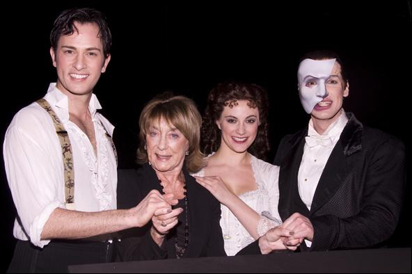 Kyle Barisich, Gillian Lynne, Trista Moldovan and Hugh Panaro