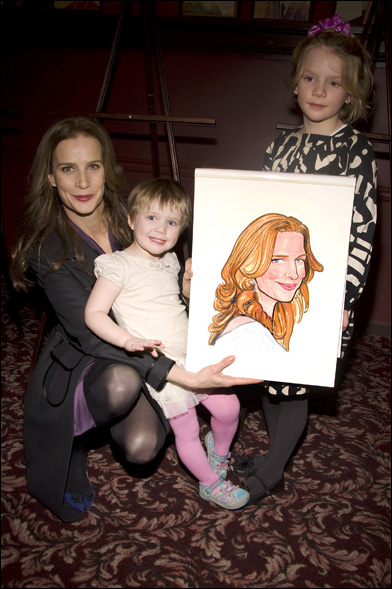 Rachel Griffiths, Clementine Grace and Adelaide Rose