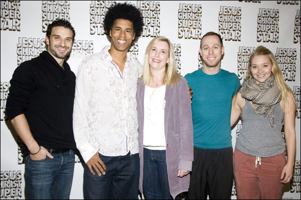 "Matthew Rossoff, Bradley ""Shooz"" Rapier, Lisa Shriver, Marc Kimelman and  Krista Leis"