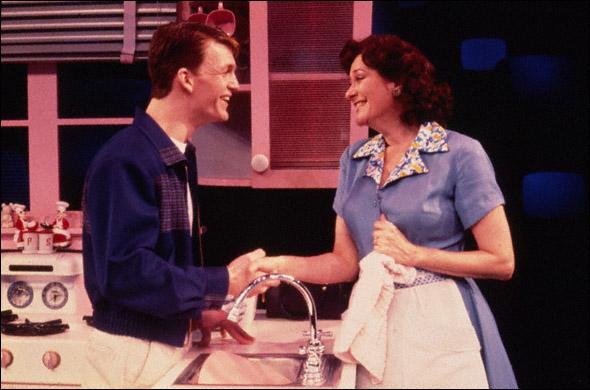 Jarrod Emick and Linda Stephens