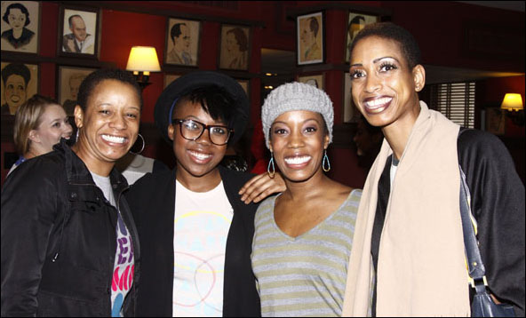 Nicole Adell Johnson, Katrina Reynolds, Tanya Birl and Keisha L. Clarke Gray