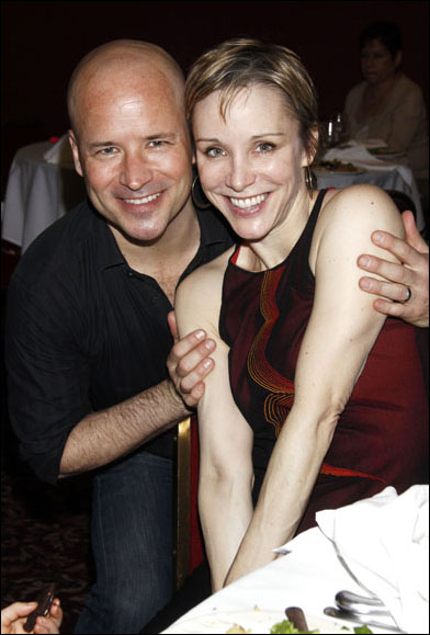 Michael Arnold and Charlotte d'Amboise