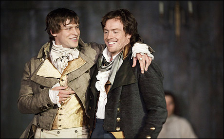 Max Bennett and Toby Stephens