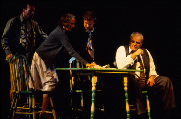 A Scene from Death of a Salesman