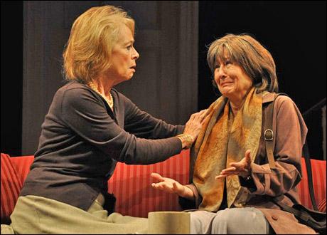 Maureen Anderman and Mia Dillon