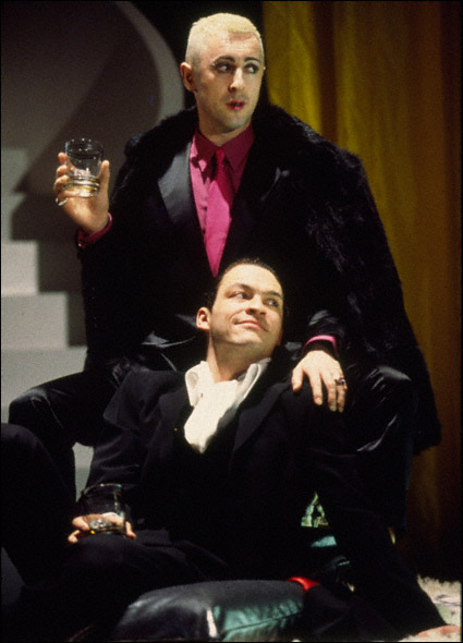 Alan Cumming and Dominic West in Design For Living