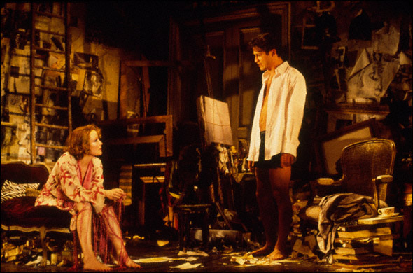 Jennifer Ehle and Dominic West in Design For Living