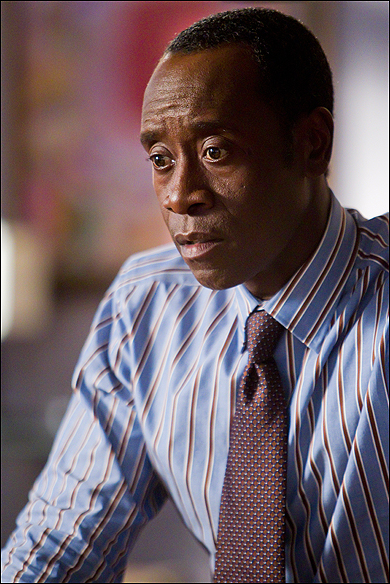 "Don Cheadle, Outstanding Lead Actor in a Comedy Series Nominee, as ""Marty Kaan"" in House of Lies."
