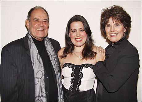 Laurence Luckinbill, Katharine Luckinbill and Lucie Arnaz
