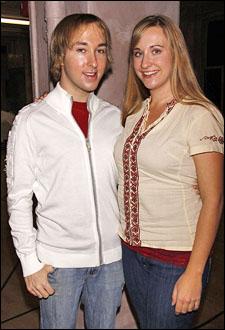 Michael Alden and Emily Bridges