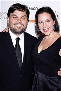 Robert Lopez and Kristen Anderson-Lopez