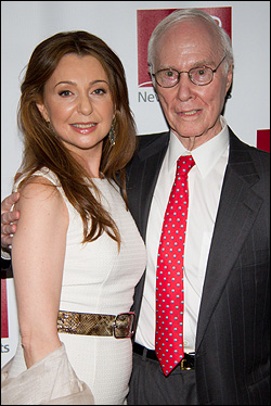 Donna Murphy and Roger Berlind