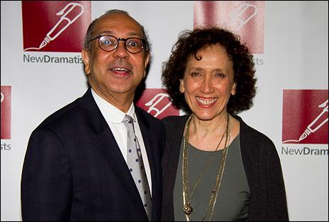 George C. Wolfe and Susan Birkenhead