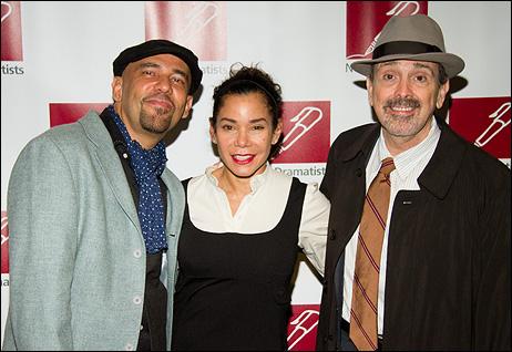 Nilo Cruz, Daphne Rubin-Vega and Craig Lucas