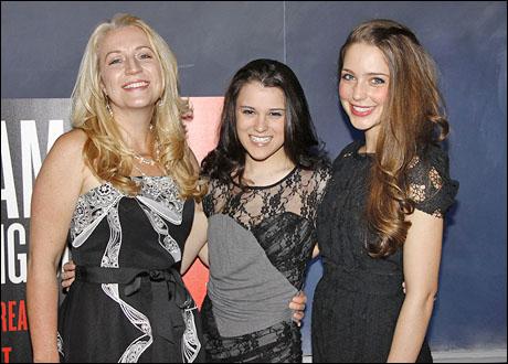 Kristie Dale Sanders, Alexandra Socha and Jessica Rothenberg