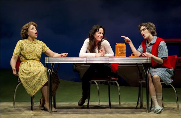 Jennifer Regan, Elizabeth Reaser and Marnie Schulenburg