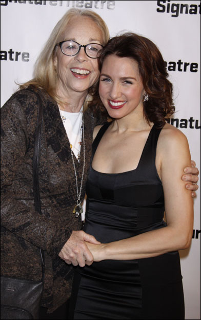 Maureen Anderman and Tricia Paoluccio