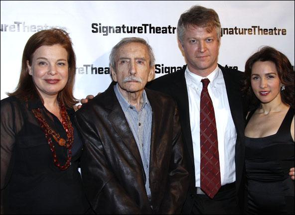Catherine Curtin, Edward Albee, C.J. Wilson and Tricia Paoluccio