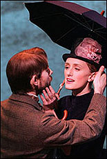Daniel Evans and Jenna Russell in <i>Sunday in the Park</I>