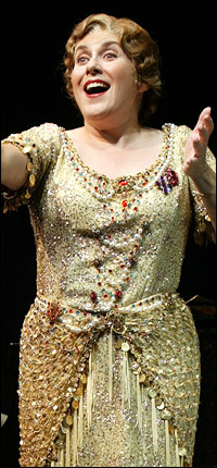 Nominee Judy Kaye, who is now appearing in the national tour of <I>Sweeney Todd</I>,  in <I>Souvenir</I>.